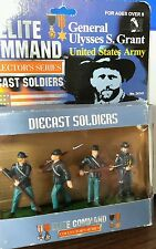Elite Command General Ulysses S Grant United States Army Diecast Soldiers Blue