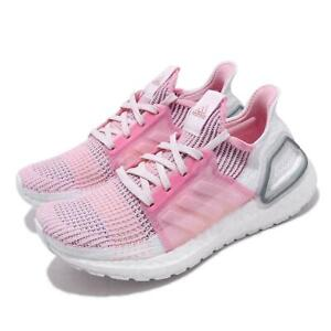 Adidas Ultra Boost 19 Pink White Size 8