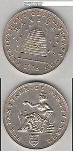 HAMBURG Patriotische Ges. Für Lanjährige Treue 32 mm 16,34 g (mm151) Randschläge