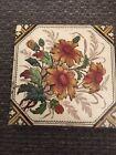 Pretty Antique floral tile 21/405X