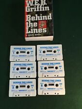 W.E.B.GRIFFIN: Behind The Lines- Books On Tape/Unabridged Audiobook, 6 Cassettes