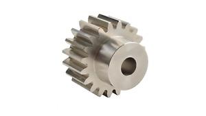 S40/28B 4 Mod x 28 Tooth Metric Spur Gear in Steel