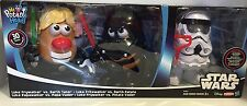 STARS WARS MR. POTATO HEAD FIGURES THREE LUKE/DARTH/STORM TROOPER