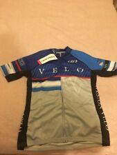 Louis Garneau Womens Rage Racing Mountain Velo Cycling Road Bike Jersey L Blue