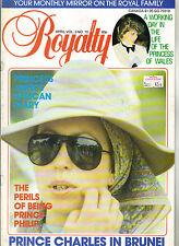 PRINCESS ANNE UK Royalty Magazine Vol 3 No 10 PRINCE PHILIP CHARLES