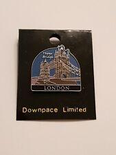 London Tower Bridge Pin Badge. UK. United Kingdom. England