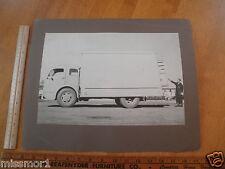 "1950's photo Moving box Truck Library school visual display 13x16"" CA"
