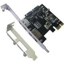 Low-profile Brackets PCI-E Express SATA3 SATA3.0 6Gb/s eSATA SATA III Card