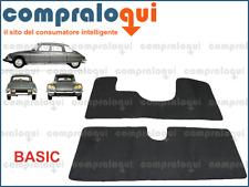 TAPPETINI AUTO PER CITROEN DS PALLAS in MOQUETTE NERA GRIGIA ANTRACITE | BASIC