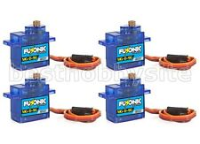 4 x Fusonic MG-D-9G Mini/Micro Size Metal Gear Digital Servo TREX 450 V2 SPORT
