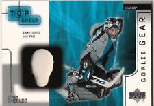 2001-02 UD Top Shelf Goalie Gear #SS Steve Shields Pad