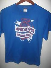 Kickball SF San Francisco Apocalypse Drink Now Spring 2012 Grenade T Shirt Large