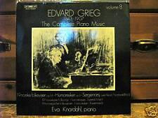 EDVARD GRIEG-COMPLETE PIANO MUSIC VOL.8-EVA KNARDAHLpia
