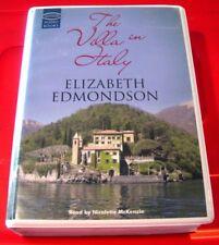 Elizabeth Edmondson The Villa In Italy 12-Tape UNABR.Audio Bk Nicolette McKenzie