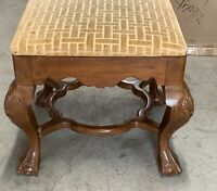 VINTAGE ANTIQUE VICTORIAN ITALIAN  CARVED FOOTSTOOL