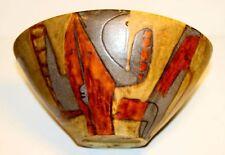 Künstlerkeramik Beate Kuhn ca.1960 Germany ART POTTERY Unikat Keramik Schale