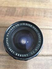 Rare vintage lens EBC Fujinon-SW 3.5/28mm,