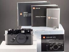 Leica MP 0.72 10302 Black Paint analog vom 10.05.17 FOTO-GÖRLITZ Ankauf+Verkauf