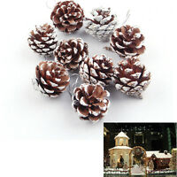 Pinecones Baubles Hanging Christmas Xmas Tree Decoration Pine Cones Fashion B Du