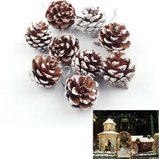Pinecones Baubles Hanging Christmas Xmas Tree Decoration Pine Cones Fashion BDAU
