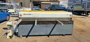 Mantech Guillotine / Shearing Machine, 2550 x 3.2mm