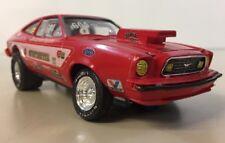 Mustang II Gunfighter VI Pro Built Model Funny Car Dragster Gary Coe Alan Spence