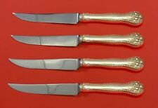 Lancaster by Gorham Sterling Silver Steak Knife Set 4pc HHWS  Custom Made 8 1/2""
