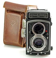 Rolleicord V (K3D) - Medium Format TLR Camera - with Xenar 75mm f3.5 Lens & Case