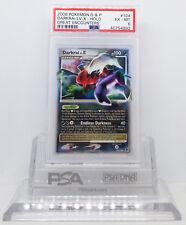 Pokemon GREAT ENCOUNTERS DARKRAI LV X #104/106 HOLO FOIL CARD PSA 6 EX-MT #*