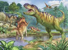 Puzzle Ravensburger 100 Teile - XXL Teile - Welt der Dinosaurier (61221)