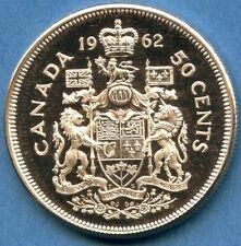 1962 Canada BU 50 Cent Silver Coin (11.66 grams .800 Silver)