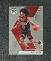 🔥🔥📈 Coby White 2019-20 Mosaic Rookie Card Chicago Bulls 1