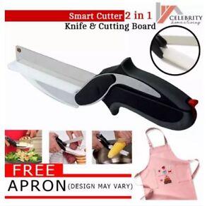 Smart Cutter 2-in-1 Knife & Cutting Board