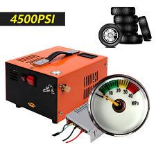 Portable 12v Electric Pcp Air Compressor 4500psi Built In 110v Power Converter