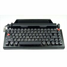 Qwerkytoys Qwerkywriter Retro Typewriter Mechanical Keyboard (Bluetooth) IBR.