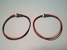 """(2) JST-XH 3S 11.1V Balance Lead Extension Cable Plug Charger Battery 30cm 11.8"""""""