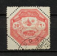 (YYAR 298) Turkey 1898 USED Mich B85 Scott M2 MILITARY