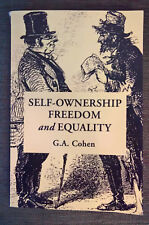 Self-Ownership, Freedom, and Equality - G. A. Cohen (Paperback, 1995)
