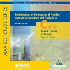 USED (LN) Fundamentals of Six Degrees of Freedom Aero Sim and Analysis in C++ (L