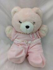 "Chosun Heart to Heart Baby Bear Plush 13"" 1986 Stuffed Animal Toy"