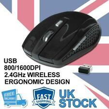 More details for 2.4 ghz wireless cordless mouse mice optical scroll for pc laptop computer + usb