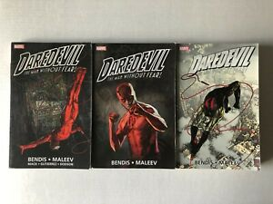 Daredevil by Bendis Ultimate Collection Vol 1 2 3 TPB/Graphic Novel Lot Set