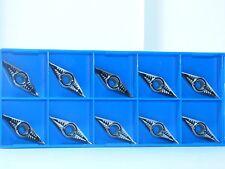 10x VCGT 160412-AL  K10     Wendeplatten   für ALU, NE-Metalle und  kunststoffe