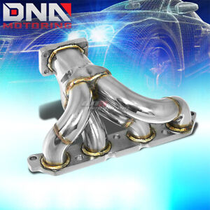 FOR 89-93 CELICA/COROLLA 4AFE T25/T28 PERFORMANCE TURBO CHARGER MANIFOLD EXHAUST