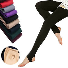 Women Winter Thick Warm Velvet Thermal Stretchy Slim Skinny Leggings Pants