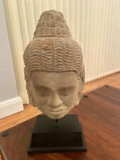 More details for antique stone budha head