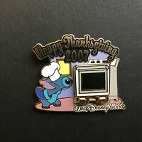 WDW - Happy Thanksgiving 2007 - Chef Stitch Disney Pin 57660