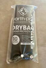 Earth Pak Roll Top Dry Bag + Phone Case - 10L Black - Waterproof Gear Protection