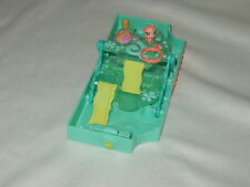 LPS LITTLEST PET SHOP miniature mini SEAHORSE play set w/ figure Hasbro 2007