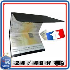 Etui en PVC pour Carte Grise Porte Carte-Grise Protection 3 volet livrais rapide